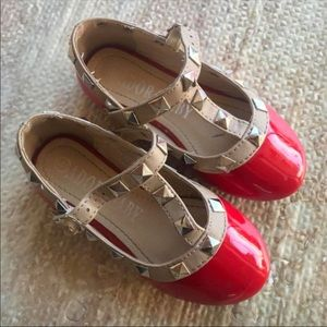 Other - Adorable red Mary Jane shoes